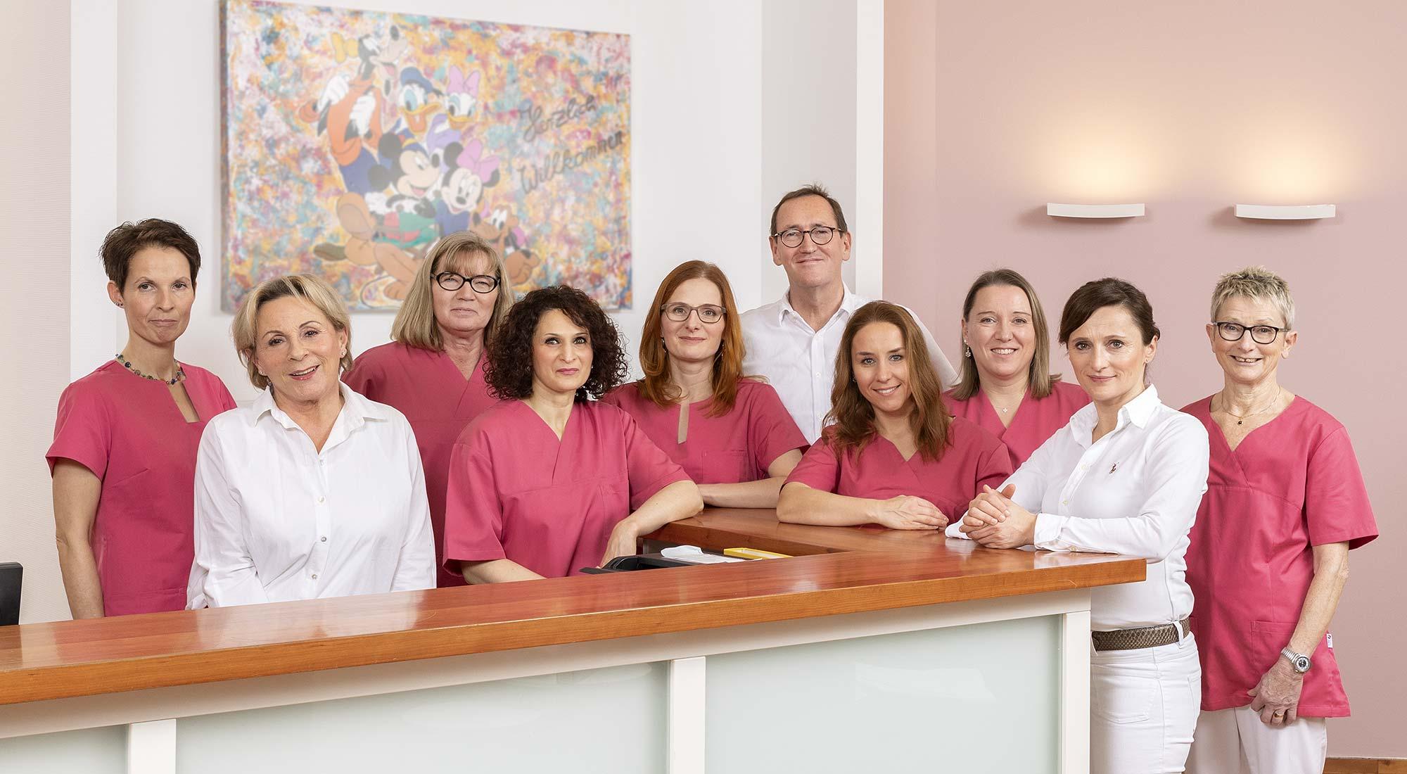 Gynäkologie im Medipark Team